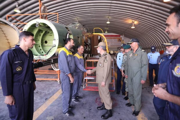 Army commander pays inspection visit to Shahid Yassini air base