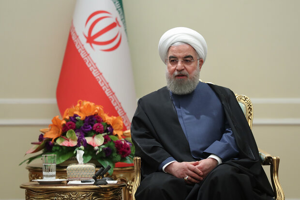 New Iranian envoys meet with Rouhani