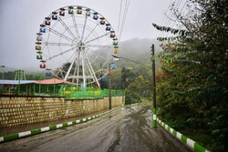 Freshness of rainy day in Gorgan