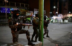 coup in Bolivia