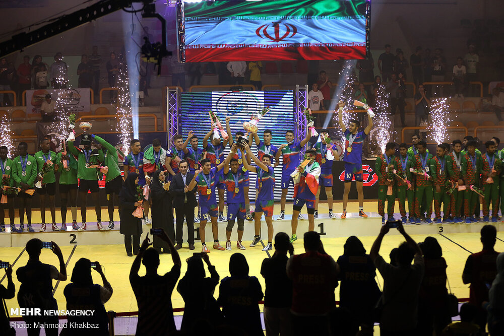 Cup ceremony and final of Junior World Kabaddi C'ships - Mehr News Agency - English Version