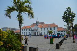 Jakarta's Old Town, a must-see destination frozen from colonial era