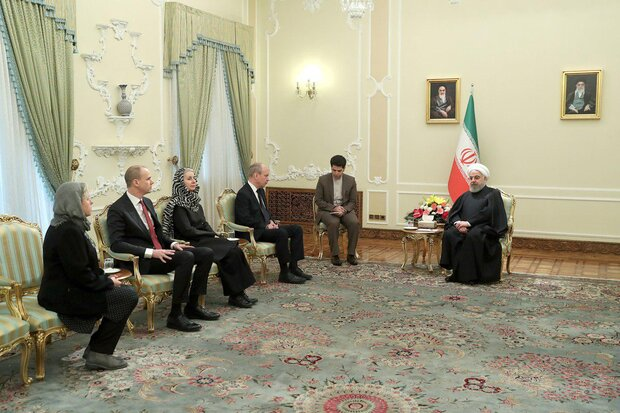 Rouhani voices Iran's readiness to deepen ties with Sweden