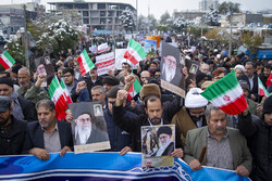Anti-violence rallies in Arak
