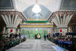 Basij members renew allegiance with ideals of Imam Khomeini (RA)