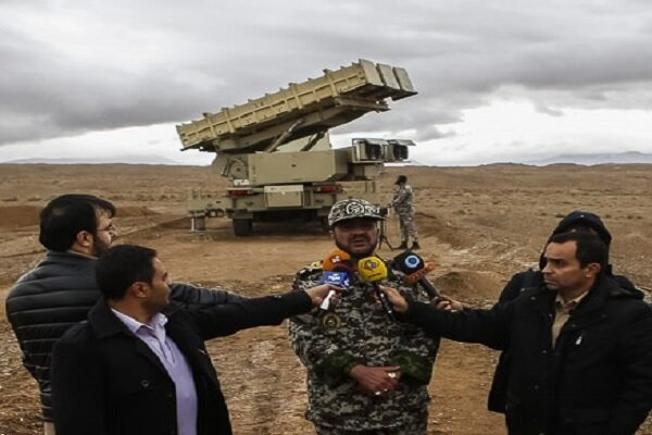 Area of air defense drill a simulation of Persian Gulf: official