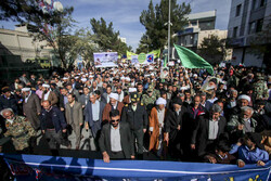 People of Birjand hold anti-rioting rally
