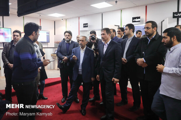 VP for Economy visits customs systems at Mehrabad Airport