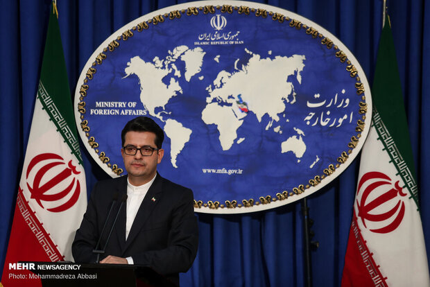 Iran FM spokesman reacts to appointment of new EU foreign policy chief