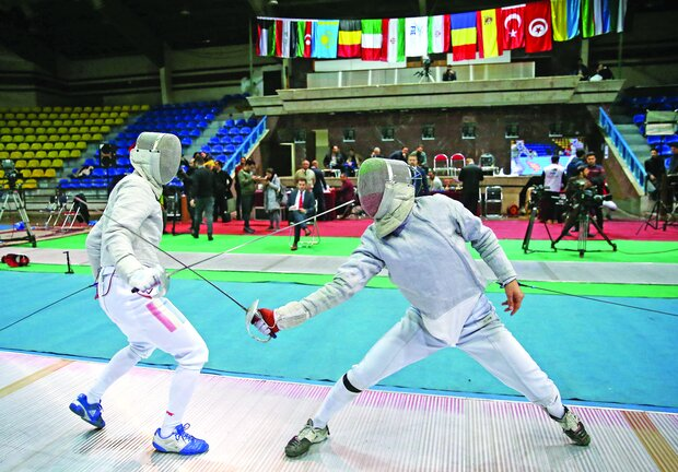 FIE Junior World Cup held in Tehran