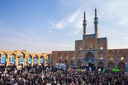 People of Yazd hold anti-rioting rally
