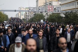 Rally in Tehran in defense of security, peace