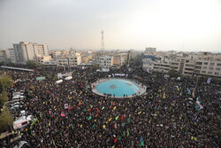 People in Tehran rally to deplore rioters, support Islamic Republic