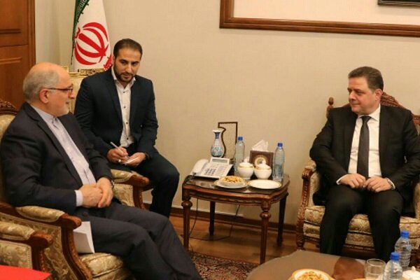 Syrian minister discusses economic coop. with Iran deputy FM