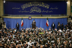 Leader to receive a host of Basij forces