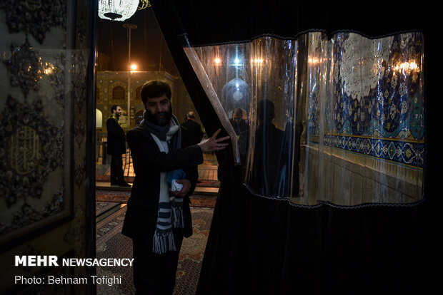Dust-cleaning ceremony of Shah Abdol-Azim (AS) shrine