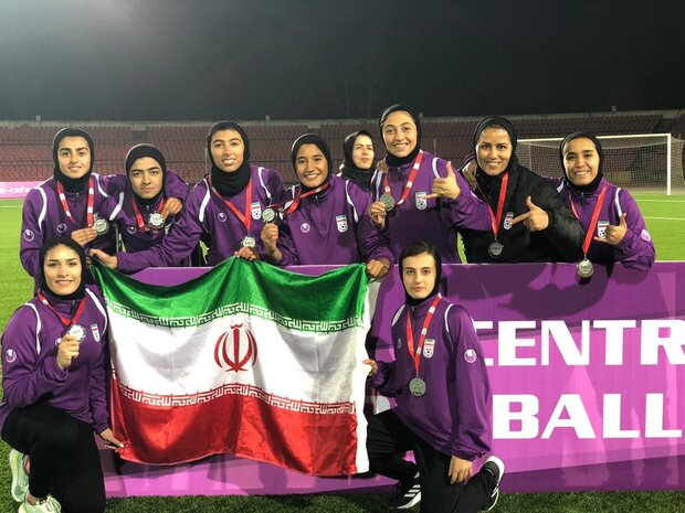 Iran runners-up at CAFA U23 Women's C'ship
