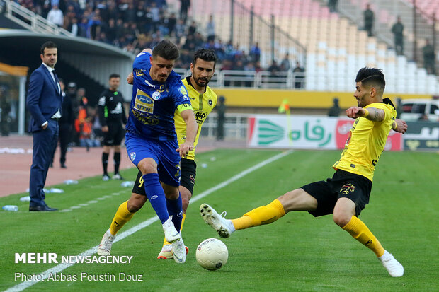 Esteghlal left frustrated as IPL tie with Sepahan ends in stalemate