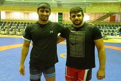 Iranian wrestlers collect two medals from Russia's Alrosa Cup