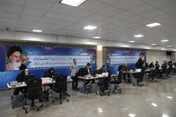 Candidates registration in Tehran for parliamentary election