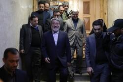 ایرانی وزیر داخلہ کا الیکشن ہیڈکوارٹر میں حضور