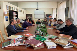 تجهیز کرسی ایرانشناسی دانشگاه دولتی ایروان به کتابهای ایرانی