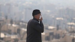 Polluted air in Iran sends over 12,800 citizens to hospitals