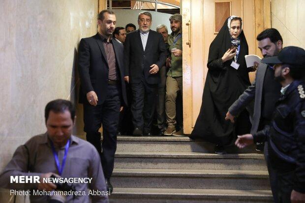 Interior min. visits Parliamentary Election Headquarters
