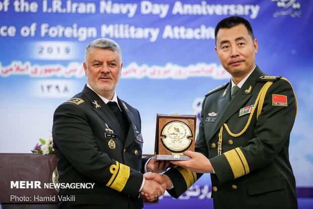 مراسم بزرگداشت روز نیروی دریایی ارتش با حضور وابستگان خارجی