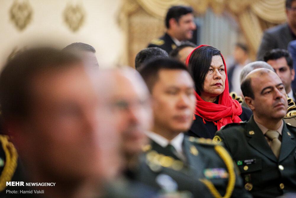 مراسم بزرگداشت روز نیروی دریایی ارتش با حضور وابستگان نظامی خارجی