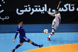 Iran futsal held in intl. Mashhad Cup opener