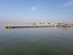 عملیات اجرایی پروژه رمپ بتنی حوضچه شناورهای صیادان ابوموسی آغاز شد