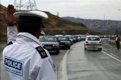 سطح جاده های استان ایلام لغزنده است
