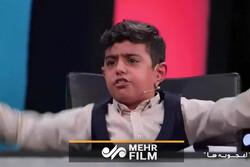 انتقاد تند یک کودک از نحوه گزارش گزارشگر تبریزی