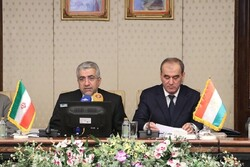 Iranian Energy Minister Reza Ardakanian (L) and Minister of Energy and Water Resources of Tajikistan Usmonali Uzmonzoda attended the opening ceremony of the 13th Iran-Tajikistan Joint Economic Committee meeting in Tehran on Monday.