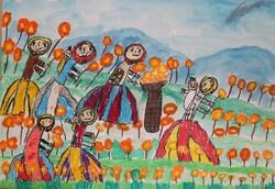 کودکان خوزستانی در مسابقه نقاشی نوازاگورا بلغارستان خوش درخشیدند