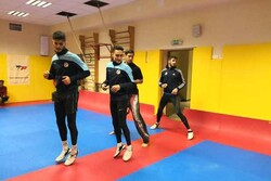تمرین پرفشار ملیپوشان در مرکز المپیک/ مقانلو در کنار تکواندوکاران
