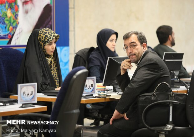 Second day of parliament candidates' registration in Tehran