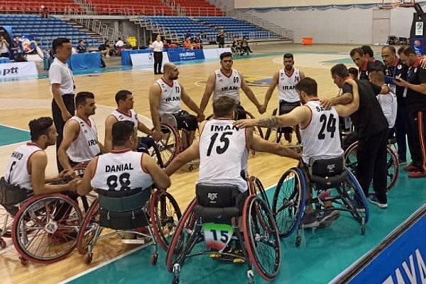 Iran falls short against defending champion at Asian wheelchair basketball c'ships