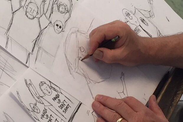 Iranian cartoonists win titles at Belgian festival