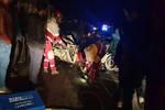 تصادف زنجیرهای در محور دماوند-فیروزکوه/۷ نفر مصدوم و ۲ تن فوت شد