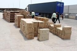 محموله میلیاردی کالای قاچاق در دلیجان توقیف شد