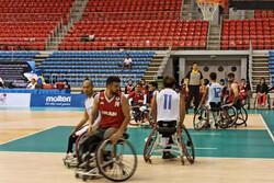تیم ملی بسکتبال با ویلچر ایران در رده سوم آسیا ایستاد