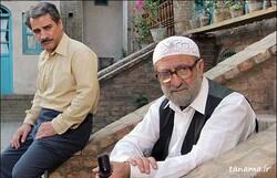 "Nasser Hashemi and Mehran Rajabi act in a scene from director Kianush Ayyari's drama ""The Paternal House""."