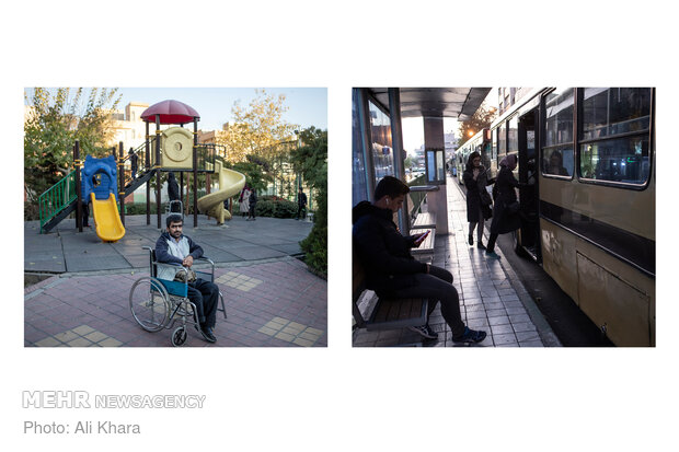 """اسماعیل که معلولیت جسمی و حرکتی شدید دارد از مشکلی میگوید که بسیاری از معلولان ایرانی دارند. نامناسب بودن وسایل حملونقل عمومی برای معلولان باعث شده آنها نتوانند از این وسایل استفاده کنند. او میگوید: """"فاصله بین اتوبوس و ایستگاهها زیاد است و بارها در این فاصله افتادهام و آسیب جدی دیدهام"""""""