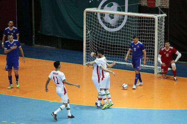 تیم ملی فوتسال ایران برابر اسلواکی به برتری رسید