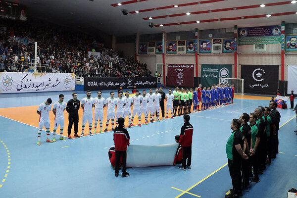 شکست تیم ملی فوتسال مقابل بلاروس/ایران قهرمان تورنمنت ۳ جانبه نشد