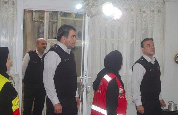 بازدید ایمنی از ۳۰۰ خانه در منطقه ونک تهران