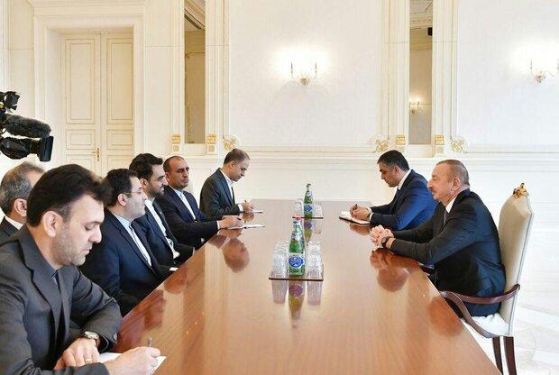 İran İletişim Bakanı, Azerbaycan Cumhurbaşkanı ile görüştü