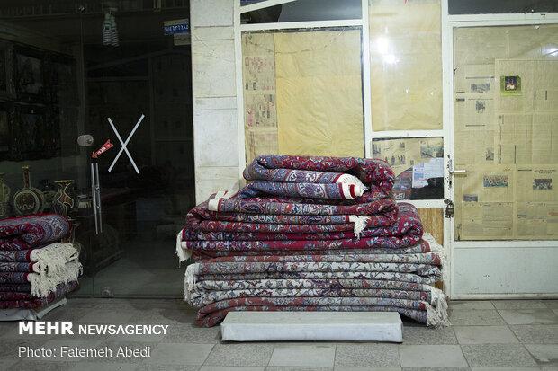 بازار کم رمق فرش دستباف مرکزی